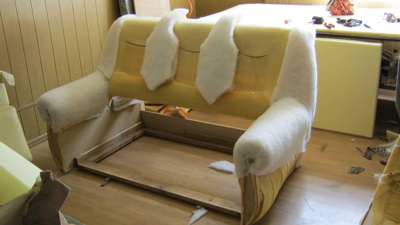 Мягкая мебель ремонт своими руками видео 96