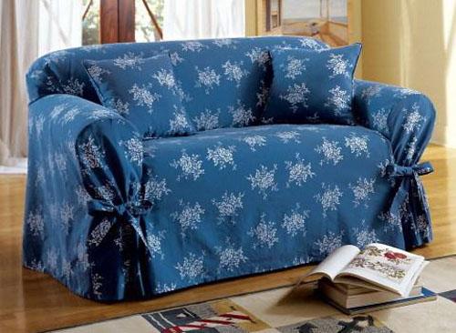 Как обновить старый диван своими руками фото